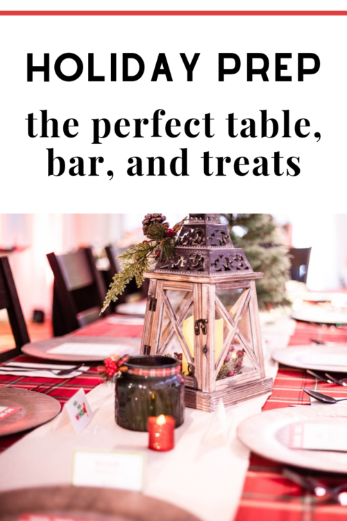 the perfect holiday tablescape