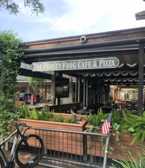 The Frosty Frog Cafe and Pizza