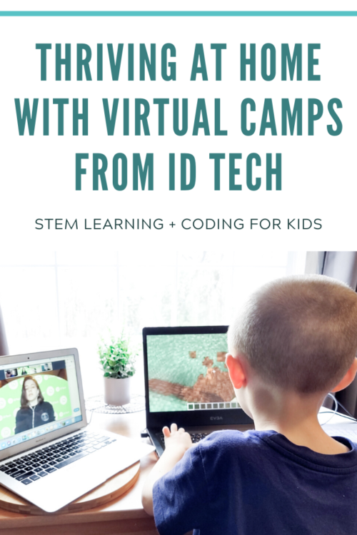 PIN ME - Virtual Camps from iD Tech - Learn from home, right now