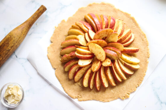 APPLE GALETTE RECIPE PROCESS