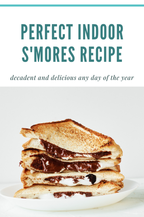 PIN ME - Perfect Indoor S'mores Recipe