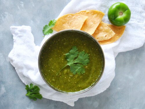 Air Fryer Salsa Verde recipe
