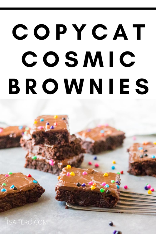 PIN ME - Copycat Cosmic Brownies Recipe
