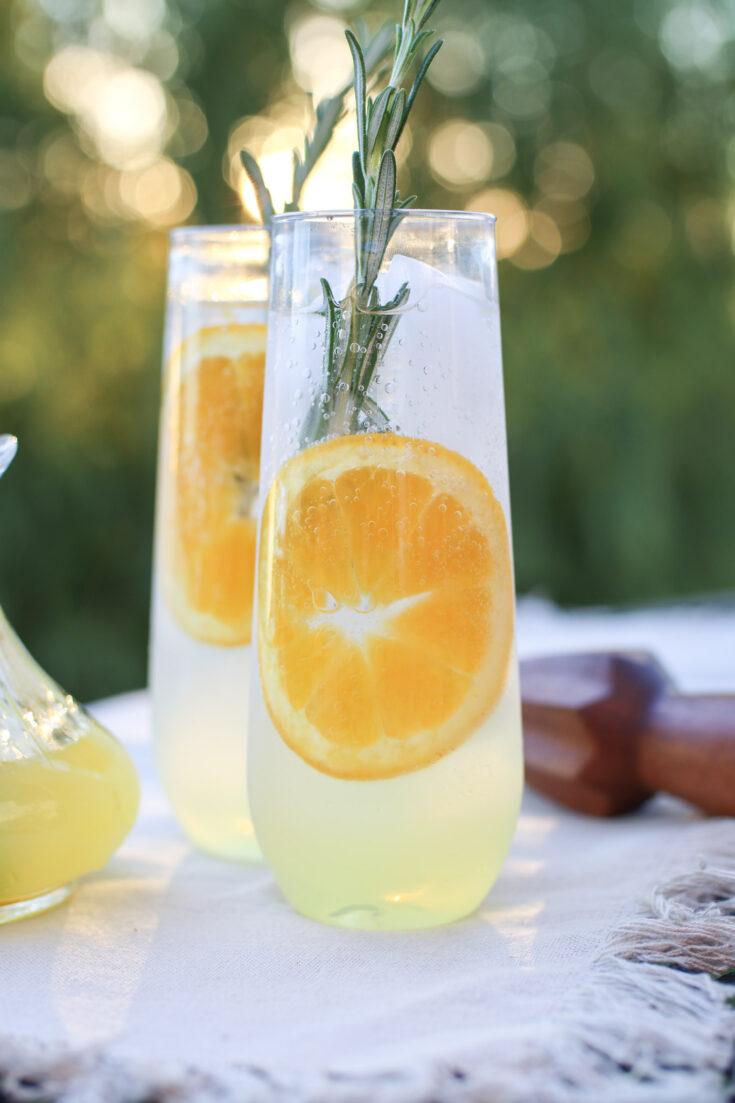 rosemary citrus spritzer