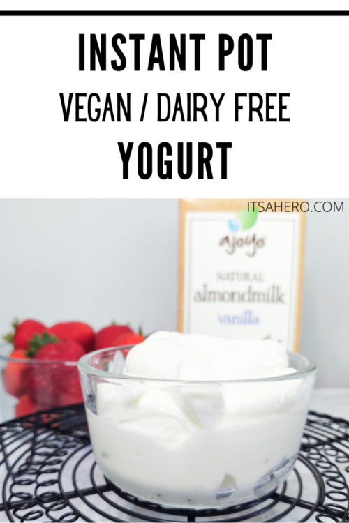 pin vegan yogurt