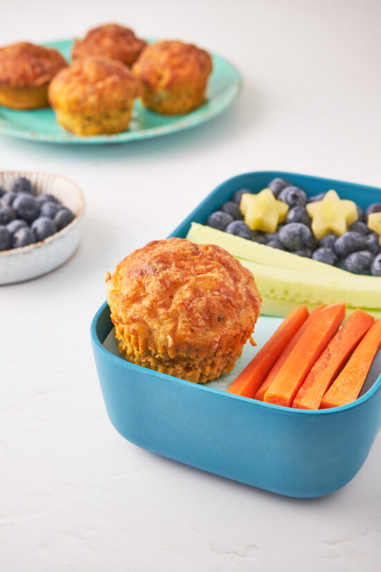 DELICIOUS BENTO BOX PIZZA MUFFINS RECIPE