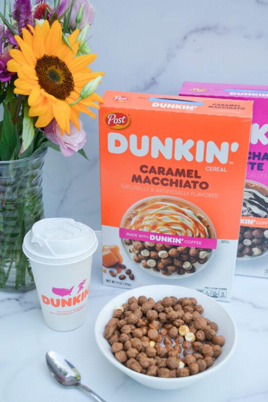 dunkin cereals