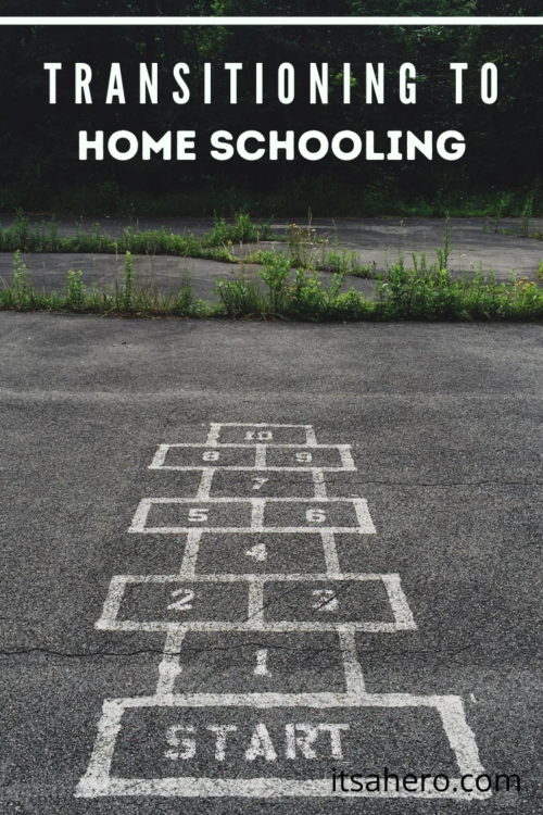PIN ME - Transitioning to homeschooling