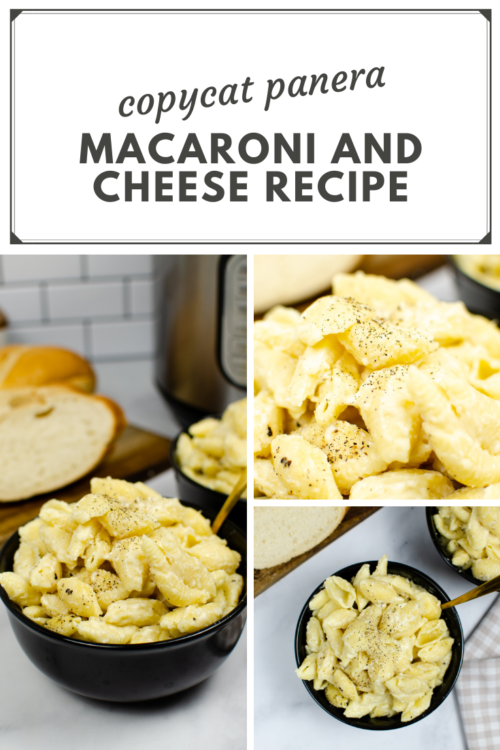 PIN ME - Instant Pot Copycat Panera Mac and Cheese
