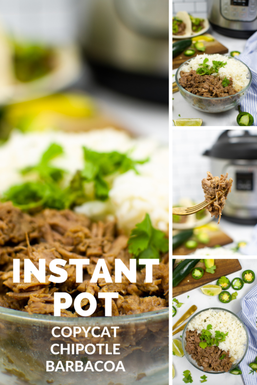PIN FOR LATER - Instant Pot Copycat Chipotle Barbacoa