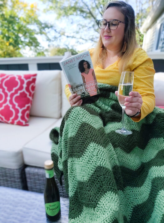 Self-Care Routine with Riondo Prosecco and By Any Reads