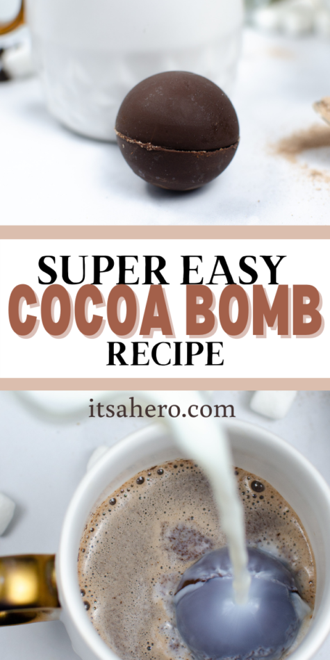 PIN ME - EASY Hot Cocoa Bombs Recipe