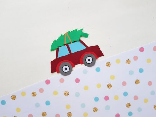 Christmas Tree Car Craft
