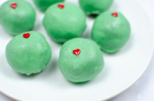 Instant Pot Grinch Truffles