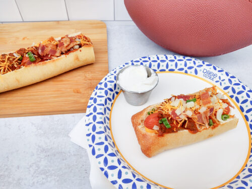 Baked Chili Cheese Dog