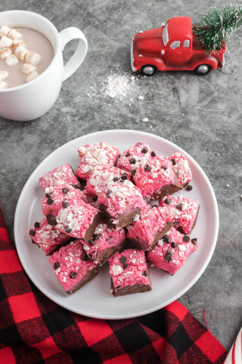 Delicious Holiday Peppermint Fudge Recipe