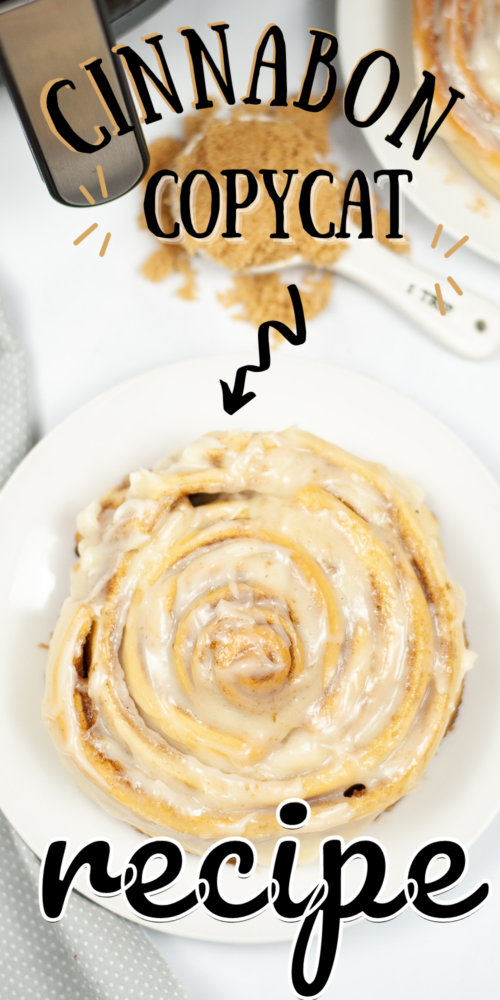 The easiest copycat Cinnabon roll recipe
