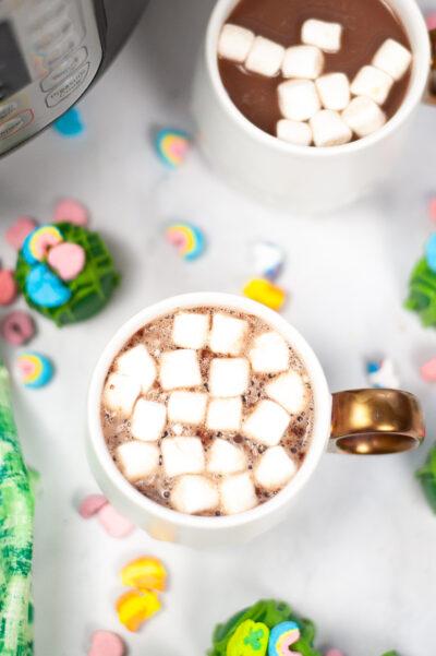 St. Patrick's Day Hot Cocoa Bombs
