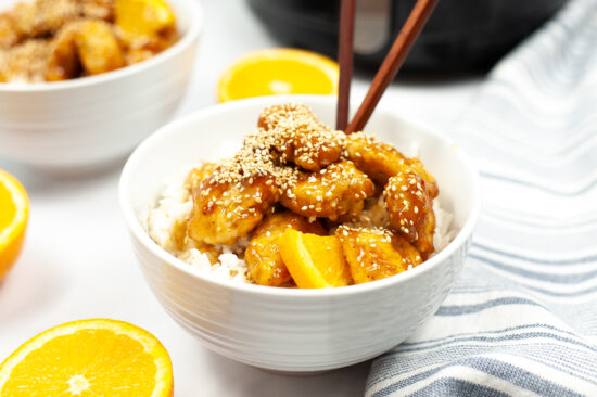 Copycat Panda Express Orange Chicken