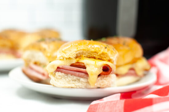 Ham and Cheese Sliders with Aioli
