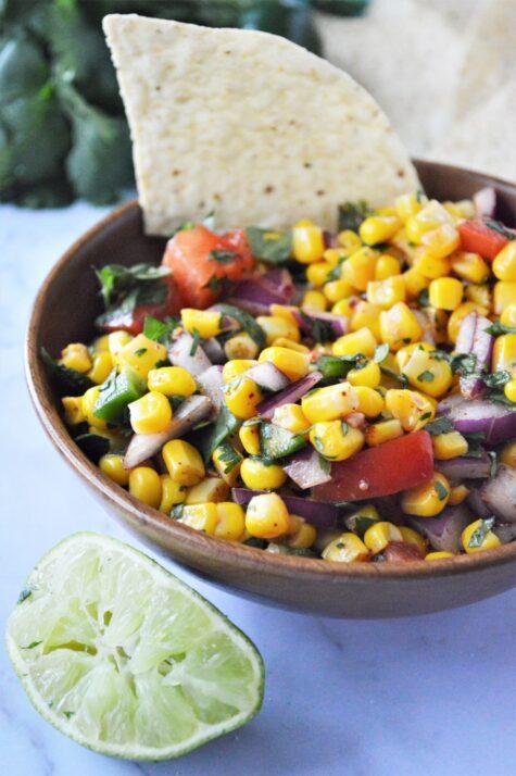 Easy and Fresh Summer Corn Salsa