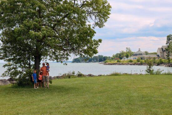 views from Geneva State Park