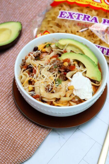 Instant Pot No Yolks Taco Soup